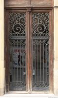 door wooden ornate 0002
